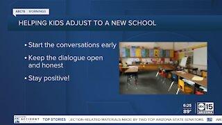 The BULLetin Board: Helping kids adjust to a new school