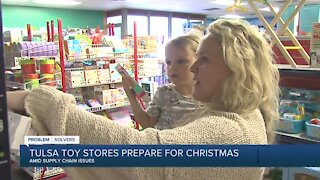 Tulsa Toy Stores Prepare for Christmas