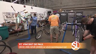 Donate new and used adult and children's bicycles at Earnhardt Auto Centers on Saturday, September 25