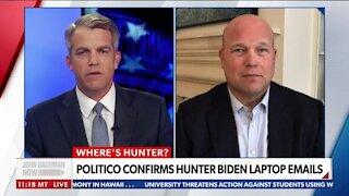 Matthew Whitaker: Hunter Biden's Art Deals Troublesome