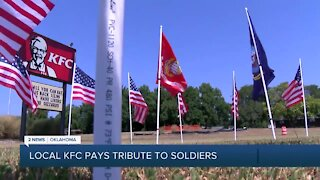 Local KFC Pays Tribute Soldiers