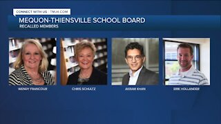 Mequon school board members face recall