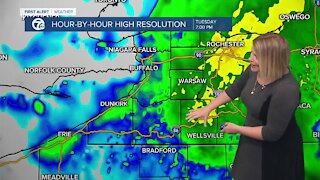 7 First Alert Forecast 6 p.m. Update, Tuesday, October 26