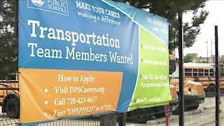 Denver Public Schools facing 'critical' bus driver shortage, transportation director says