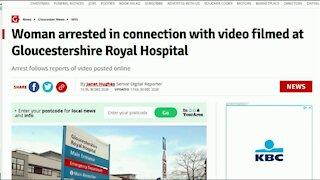UK Woman APPREHENDED 👮♂️ After Filming 🏥 Hospital / Hugo Talks