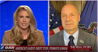 The Real Story - OAN PA Audit with State Sen. Doug Mastriano
