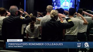9/11 remembrance ceremony honors firefighters in Royal Palm Beach