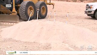 Phase II of the Fort Apache widening project underway