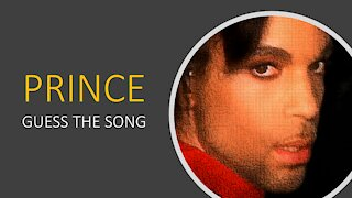 PRINCE - GUESS THE SONG QUIZ