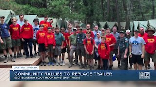 Thieves steal Boy Scout trailer, community rallies around the troop