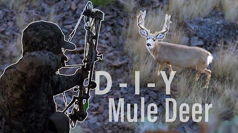 Bow Hunting Open Country Bucks - Self-filmed DIY Mule Deer (Eastmans')