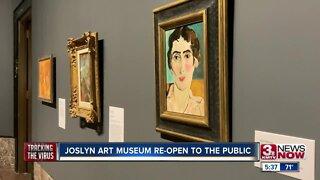 Joslyn Art Museum reopen to the public