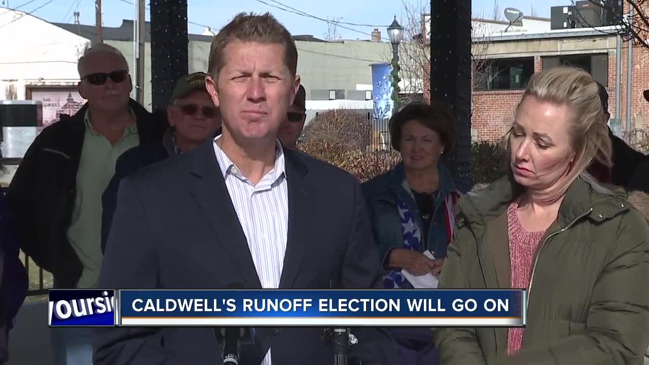 Caldwell runoff election to go forward