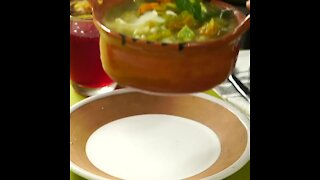 Mexican Squash Blossom Soup