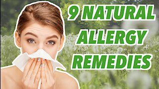 How to Treat Seasonal Allergies Naturally Without Medication