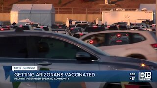 Helping the Spanish-speaking community get COVID-19 vaccinations