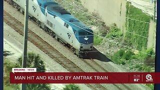 Man fatally struck by Amtrak train in Lake Worth Beach