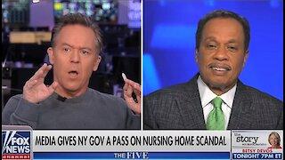 Gutfeld slams media for giving Gov. Andrew Cuomo a pass on nursing home scandal