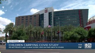 New study shows children carry COVID-19