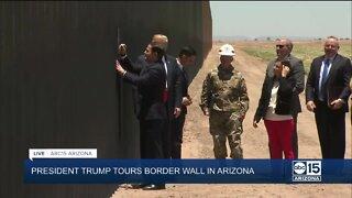 President Trump, Governor Ducey sign Arizona border wall