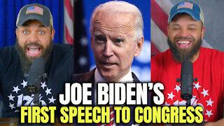 Joe Biden's First Speech To Congress