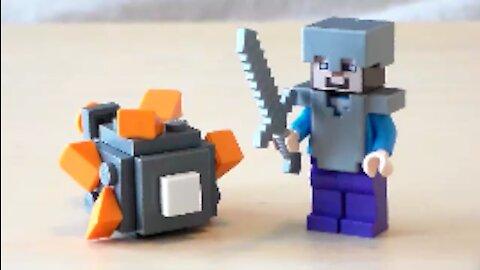 Lego Minecraft Guardian Tutorial