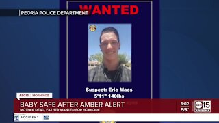 Missing baby found safe, suspect outstanding after AMBER Alert