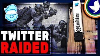 Police Just Raided Twitter