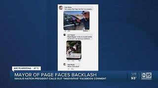 Page mayor facing backlash after Facebook comment towards Navajo Nation president