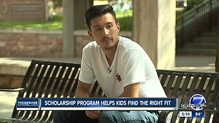 Scholarship program helps kids find the right fit
