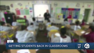 Getting kids back into the classroom safely