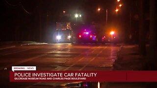 Tulsa Police investigating car fatality