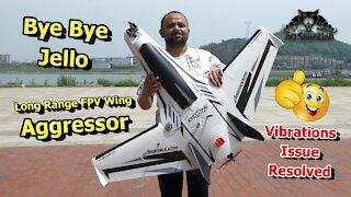 Aggressor Long Range FPV Flying Wing FPV Test Flight