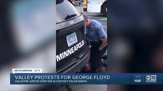 Valley protests for George Floyd after his in-custody death