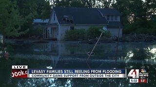 Levasy families still reeling from flooding