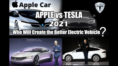Apple's Genius Plan To Challenge! Apple Car VS Tesla - Who Will Create the Better Electric Vehicle?