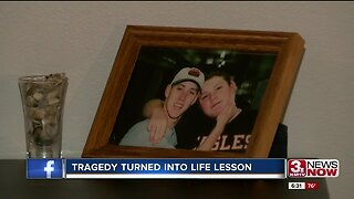 Tragedy turned into life lesson
