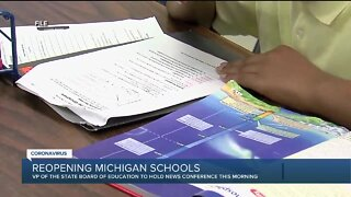 State Board of Education to discuss 'exposure risks' related to reopening Michigan schools