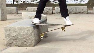 Take A Break! Maverick Skater Makes 'Break-Away' Skateboards From Broken Boards