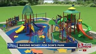 Raising money for Dom's Park