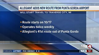 Allegiant adding to flight to Michigan from Punta Gorda