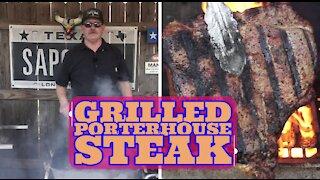 "Moody's Quality Meats Porterhouse Steak Rubbed with Rio Grande Seasonings ""PA' TODO"""