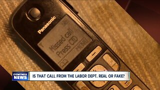 Is that unemployment benefit call real or fake?