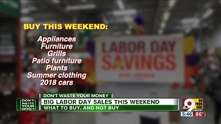 Big Labor Day sales this weekend