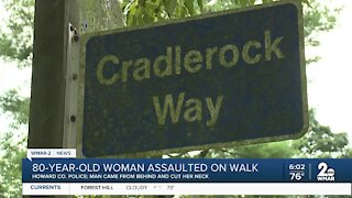 80-year-old woman assaulted on walk