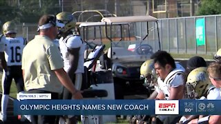 Olympic Heights names new Head Coach