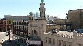 Sneak peek of renovations at the Oriental Theater