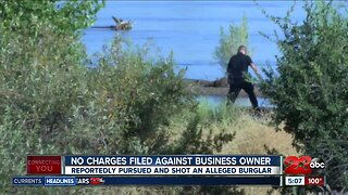 No charges filed against business owner involved in car chase and shooting at this time