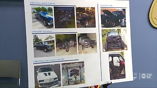 2 men accused of stealing classic cars