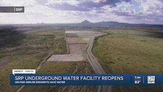 SRP underground water facility reopens